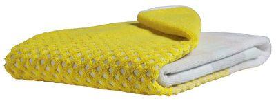 Bath towel - 140 x 70 cm Yellow by Hay