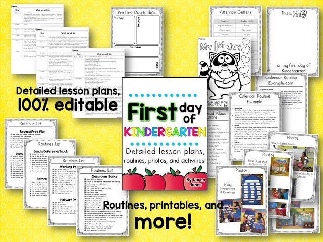 My Big List of Kindergarten Routines for a Gold Star Year! | The TpT Blog