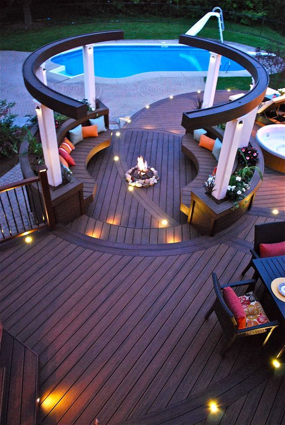 Bi Level Deck Home Design Ideas Pictures Remodel And Decor: 17 Best Images About Pictures Of Decks On Pinterest