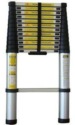 Alu 320 cm Teleskopleiter Anlegeleiter Leiter