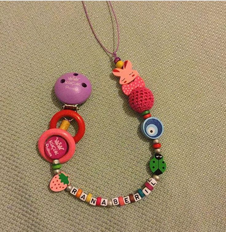 DIY pacifier holder