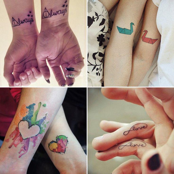 Best Husband Wife Tattoos Ideas On Pinterest Wife Tattoos - 20 beautiful matching tattoo designs that symbolise a couples loving bond