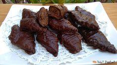 Mostaccioli pugliesi,con cacao e mandorle la ricetta di Nina | Dolci Passioni