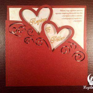 Love lézervágott esküvői meghívó #lézervágott #esküvői #meghívó #esküvőimeghívó #lasercutting #wedding #weddinginvitations #love #hearts