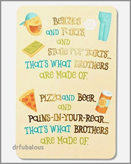 38 Elegant Brother Birthday Cards Hallmark