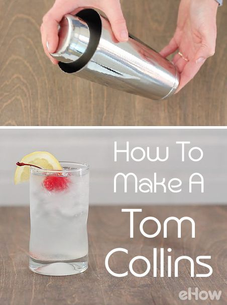 Make  a classic tom collins at home! All you need is tonic water, lime juice, gin, lime wedge and ice to make this old-school, refreshing drink! Recipe info here [VIDEO]: http://www.ehow.com/how_2696_make-whole-grain.html?utm_source=pinterest.com&utm_medium=referral&utm_content=freestyle&utm_campaign=fanpage