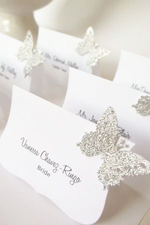 brides of adelaide magazine - butterfly themed wedding - spring wedding - purple wedding - butterfly - butterflies - escort cards