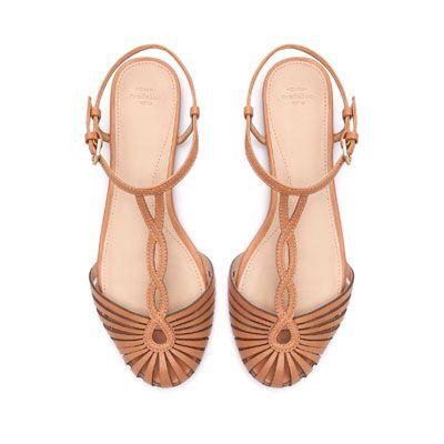 CANGREJERA PULSERA - Zapatos planos - Zapatos - TRF | ZARA México
