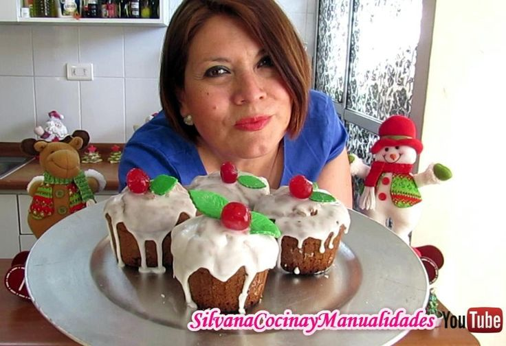 NAVIDAD: MUFFINS NAVIDEÑOS - Silvana Cocina y Manualidades