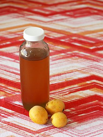 Loquat Simple Syrup | fullandcontent.com | Loquat recipes, Make simple syrup, Simple syrup