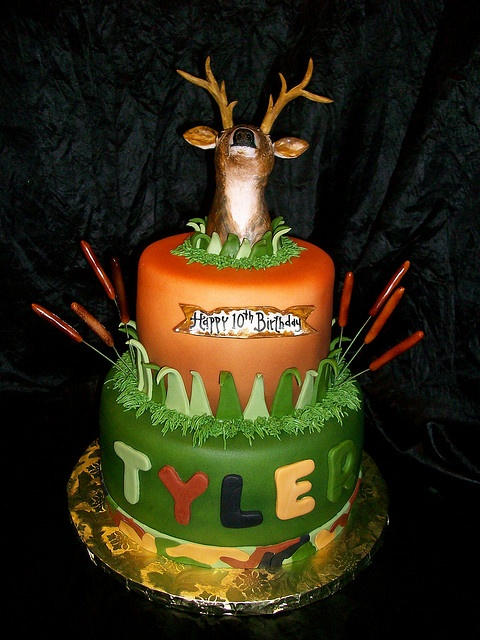 17 Best ideas about Deer Hunting Cakes on Pinterest ...