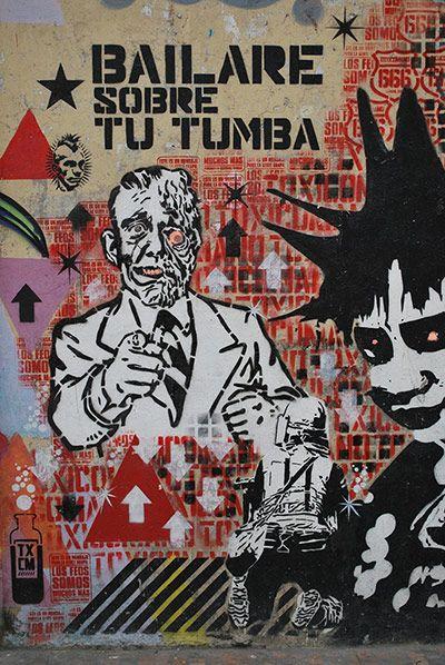 The graffiti of Bogotá