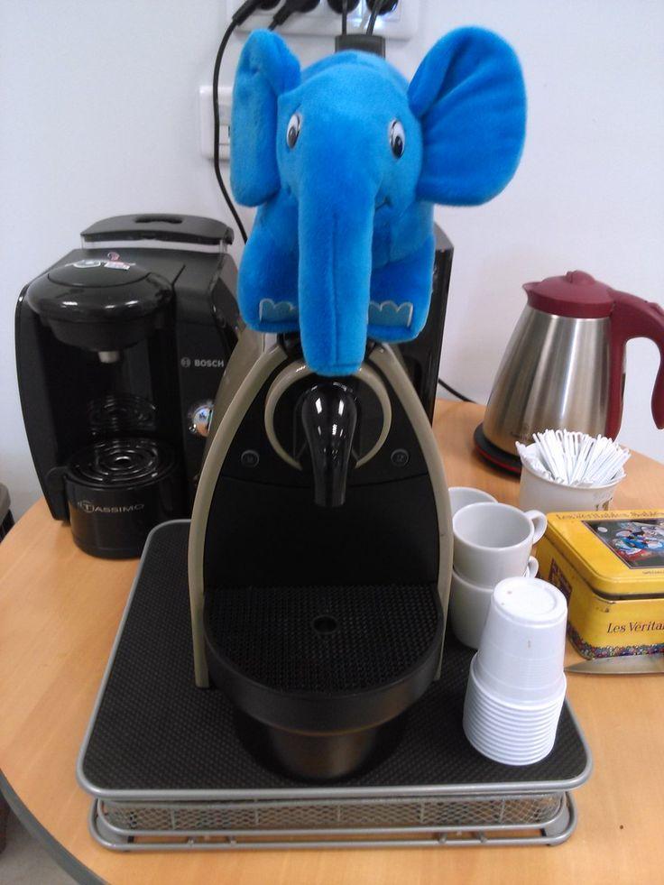 Retour au boulot ! Petite #pause #café bien méritée :-)