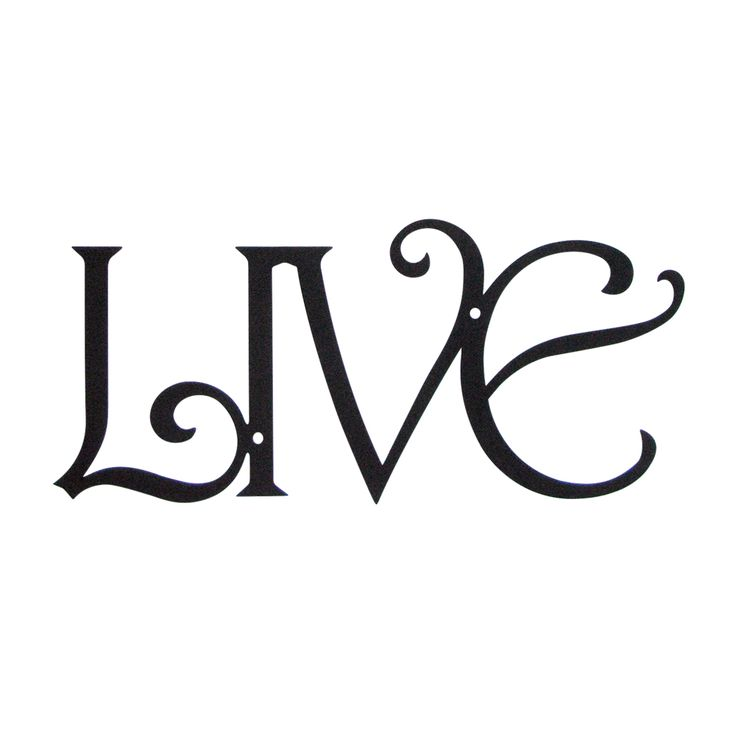 Wrought Iron Words Wall Decor Magnificent Extraordinary ...