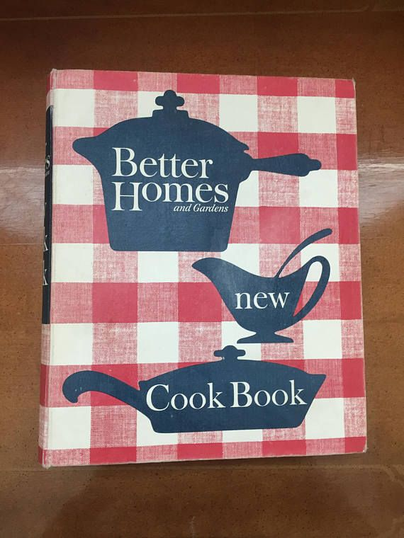 better homes and gardens new cook book 1962 revised edition first