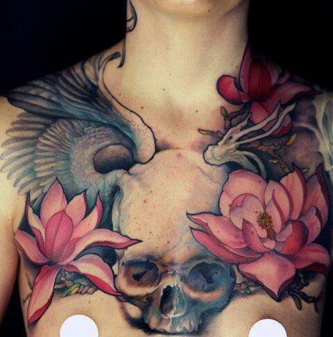 jeff gogue flower tattoo - Google Search