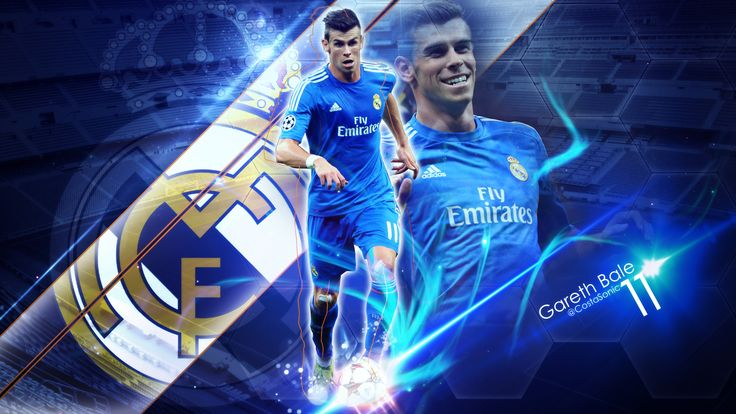Gareth Frank Bale is a Welsh professional footballer who plays as a winger for Spanish club Real Madrid and the Wales national team. Wikipedia Born: 16 July 1989 (age 28), Cardiff, United Kingdom Height: 1.83 m Weight: 74 kg Partner: Emma Rhys-Jones Salary: 15 million GBP (2016) Did you know: Gareth Bale is the fourth-most expensive Association Football transfer (£86 M, from Tottenham Hotspur to Real Madrid in 2013). wikipedia.org