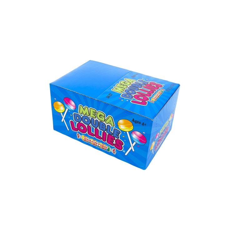 Mega Double Lollies Box 24ct Box