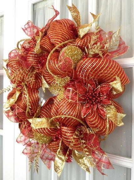 Mesh Christmas Decorations