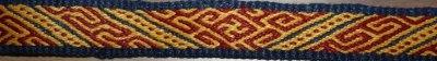 Tablet weaving based on Mammen band