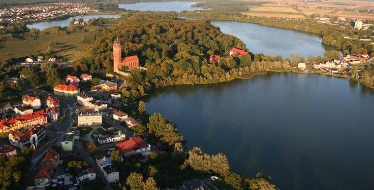 XIX-wieczny zabytkowy park miejski – Lasek Luizy to oprócz zamku jedna z największych atrakcji Człuchowa.