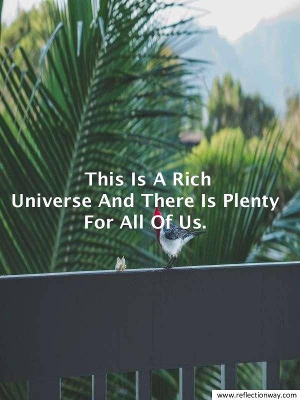 how to feel rich law of attraction #