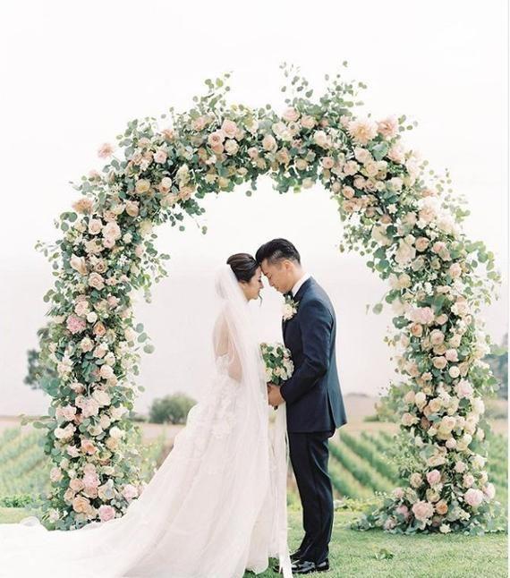 Wedding arch Wedding archway Rustic wedding Arch Ceremony Arch Wedding decor, Wedding Backdrop Arch