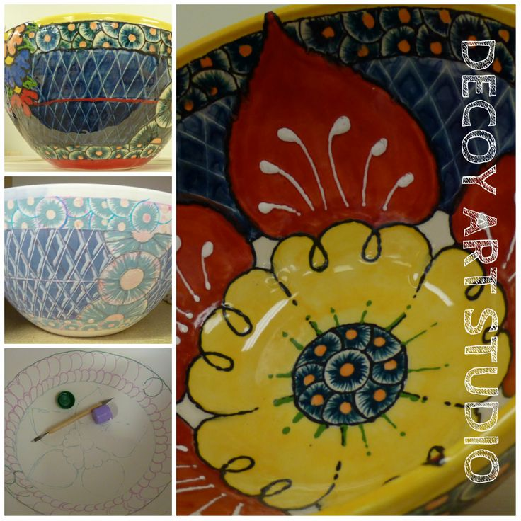 51 best images about pottery painting on pinterest for Paint your own pottery ideas