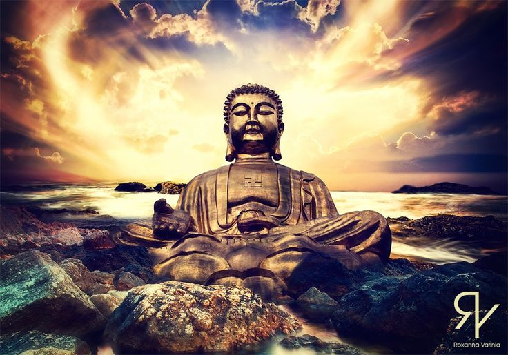 "• Buddha's sanctuary • Do not look for a sanctuary in anyone except your self."" - Gautama Buddha #soulart #soullage #soulcollage #spiritualart #spirituality #spiritual #spiritueel  #digitalart #digitalartist #digitalartwork #photoshop #collage #collageart #soul #buddha #buddhism #buddhaful #sanctuary #tranquility #serenity #peace #self #empower #empoweryourself"