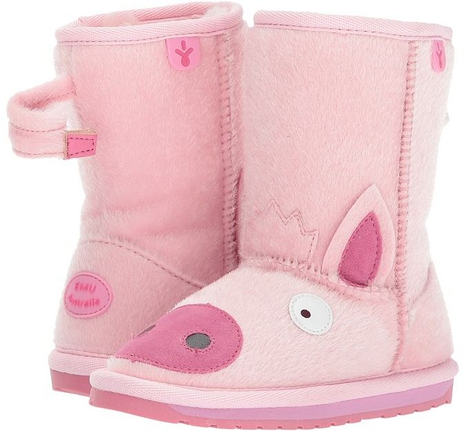 52f6b1bffc891 Emu Little Creatures Piggy Girls Shoes | Products | Miss piggy, Pig ...