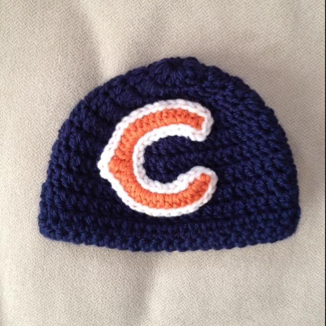 Free Crochet Pattern For Chicago Bears C : 36 best images about Crochet chicago bears patterns on ...