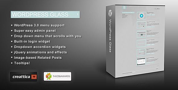 WordPress Glass