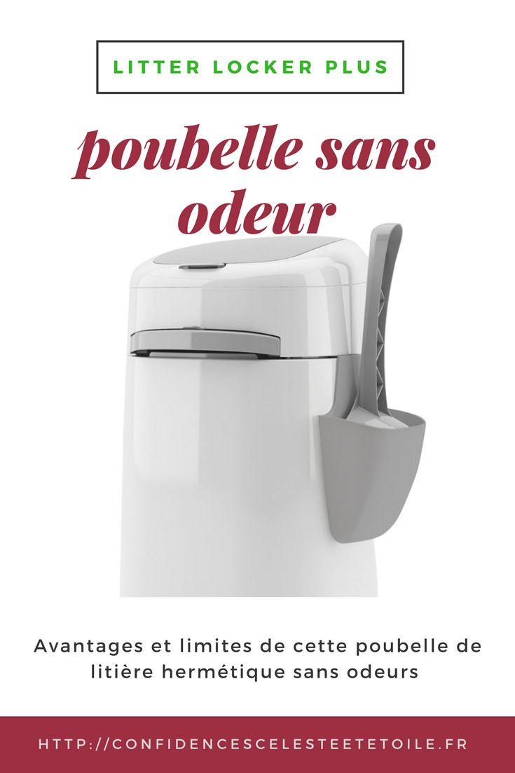 avis complet : avantages et limites de la poubelle hygiénique sans odeur Litter locker plus. + concours