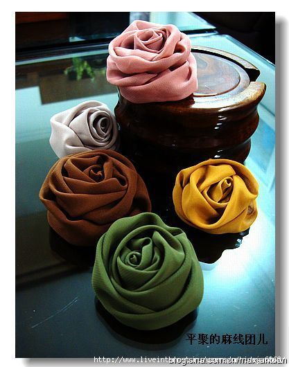 How to make a fabric flowers! So beautiful!!!!!!
