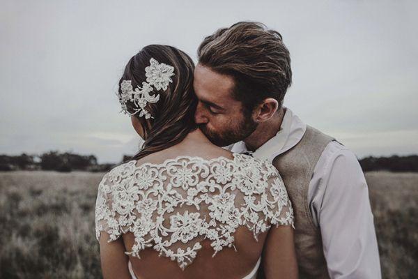 Grüne Bohemian Hochzeitsinspiration | Friedatheres.com
