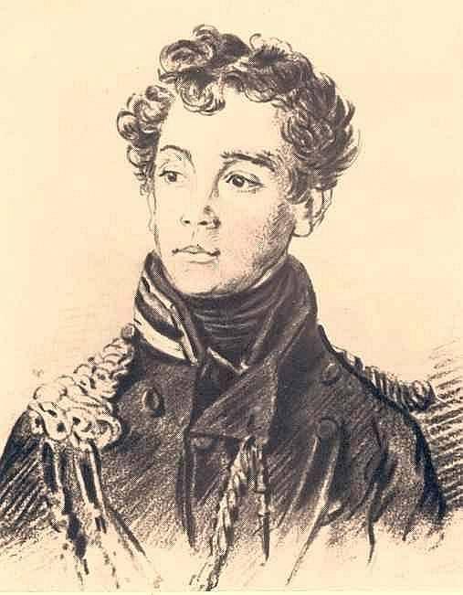 Portrait of an officer - Orest Kiprensky  1813