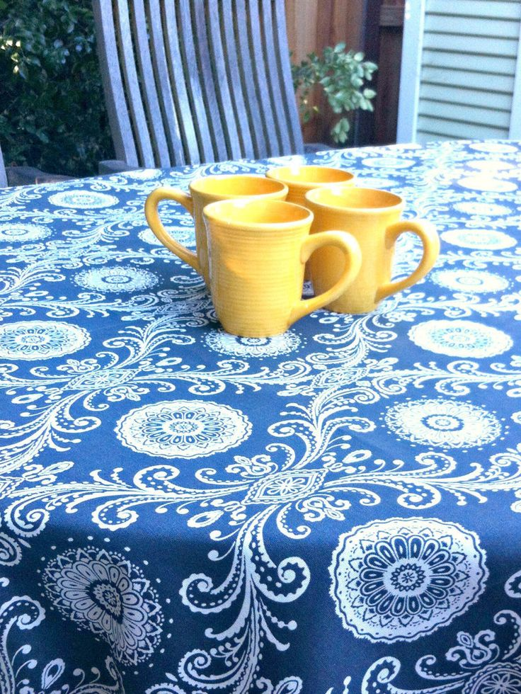 Large Indoor Or Outdoor Tablecloth, Rectangle Tablecloth, Charcoal And  White Large Tablecloth By MyaCdesign On Etsy