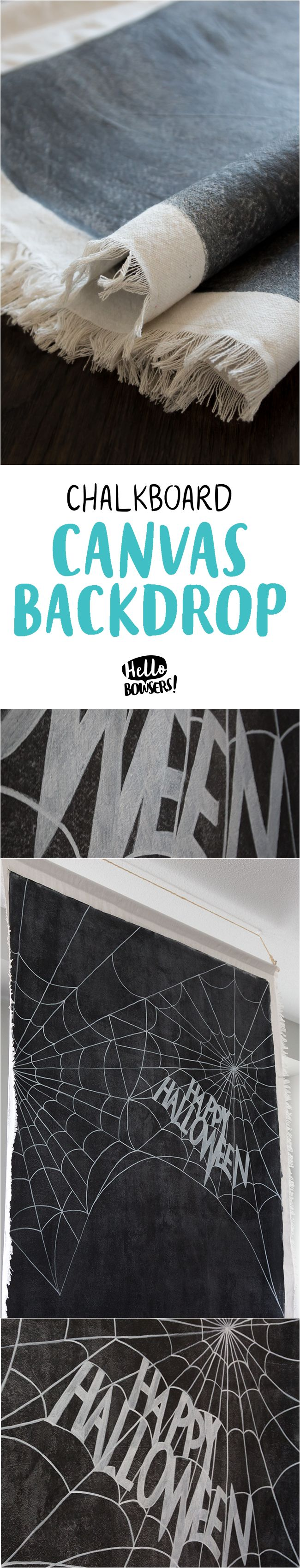 A giant 6×9 foot chalkboard canvas that can be written on, rewritten on, rolled up, stored, toted around, shared, relocated, repurposed…..you get the idea. It's amazing