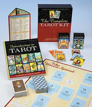 Complete Tarot Kit (Decks, & Book by Susan Levitt) DCOMTAR