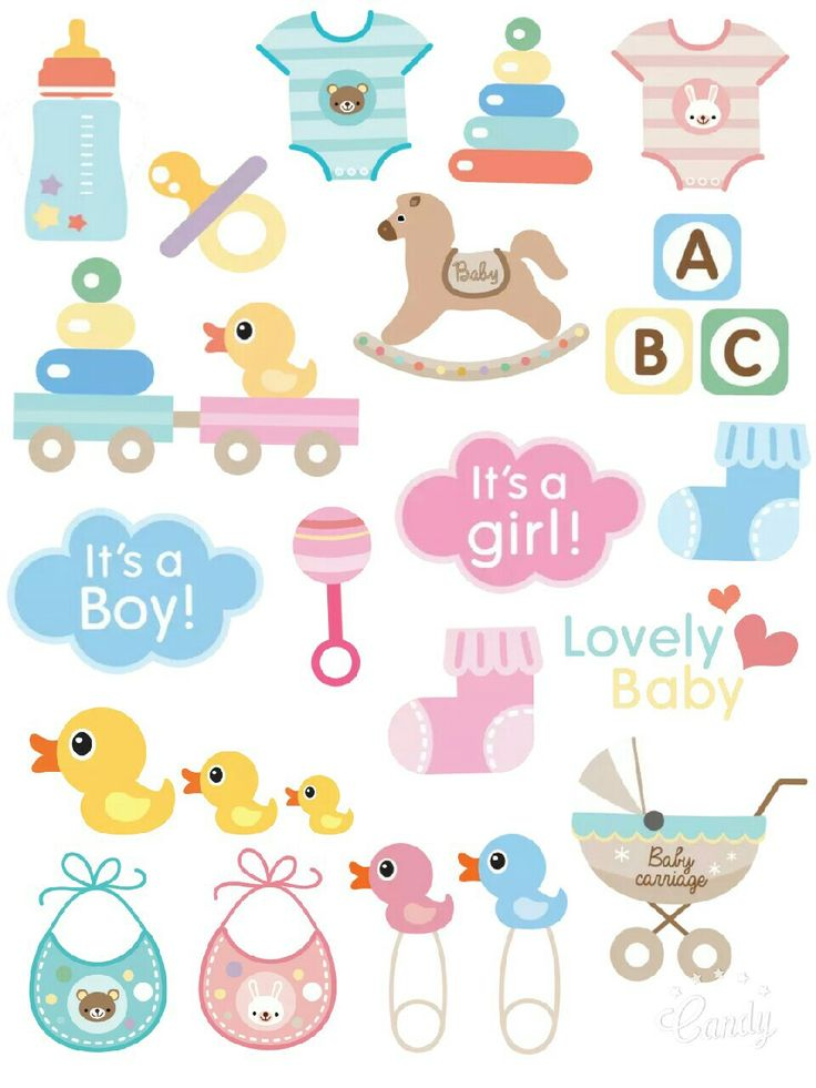 Baby...Baby - Sticker Printable…