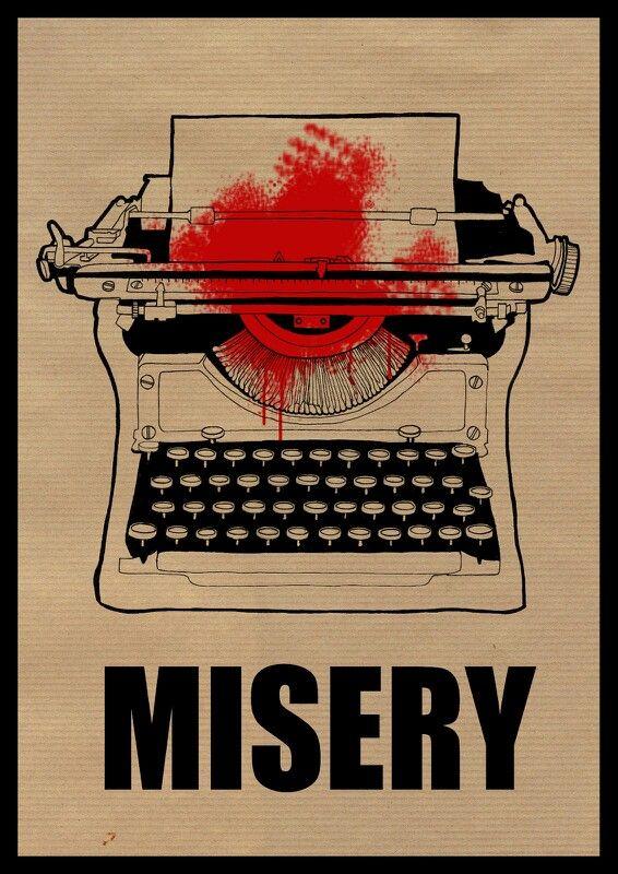 Misery fan art poster