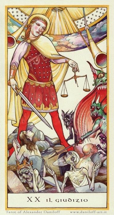 Major Arcana Tarot Card Meaning According To: 35 Best Images About El Juicio