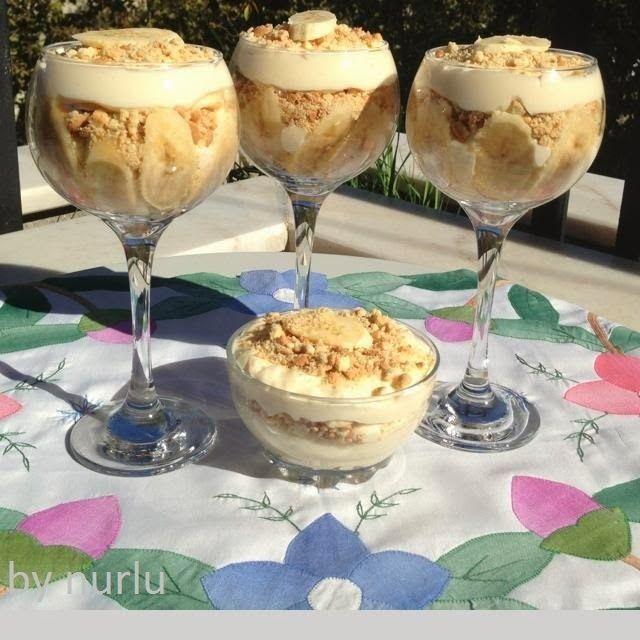 Magnolia Bread Pudding recipe,,Muzlu Pudding,Magnolia Pudding tarifi,Cook Shop Magnolia Pudding Tarifi,,Magnolia pudding,nasıl yapılır?,COOK SHOP.
