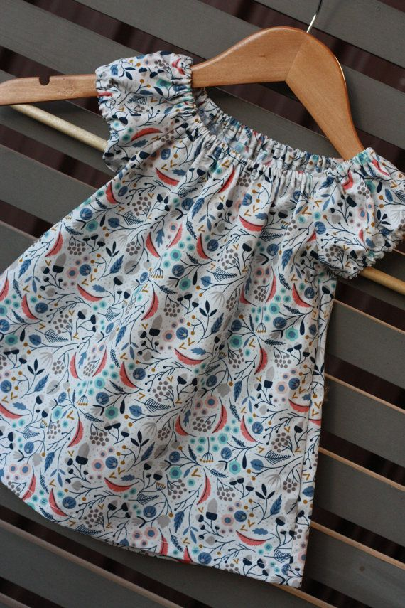 SALE  Size 6-12 mths  Toddler Dress  Ivory by RainbowSparklesBlue