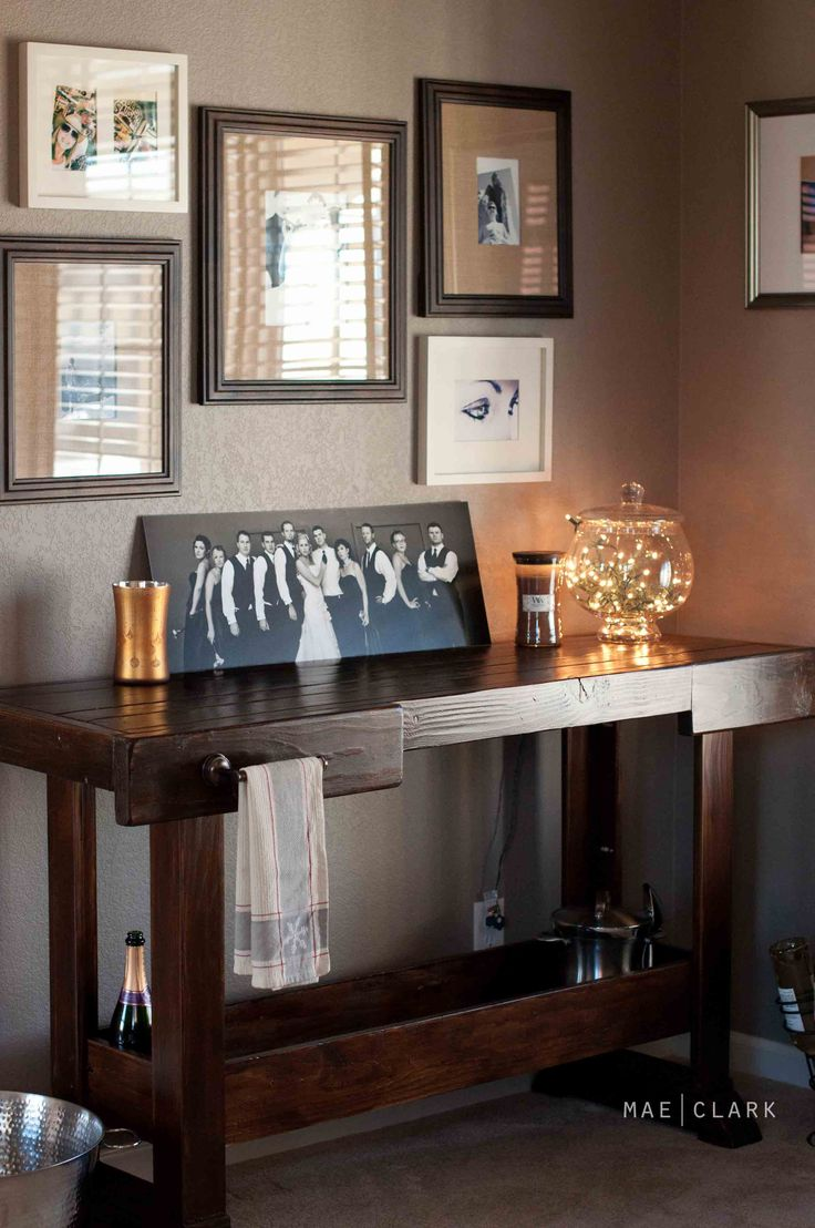 Workbench Console   Do It Yourself Home Projects from Ana White