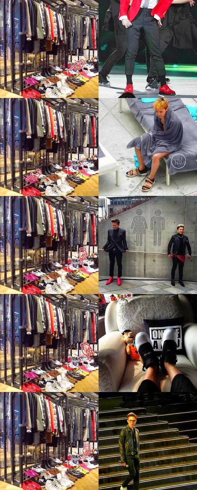 YG Artists Clothes including G-Dragon and Taeyang to Be Sold at Rare Market | bigbangupdates