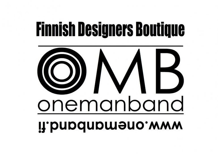 Design brands-Finnish Designers Boutique Onemanband OMB