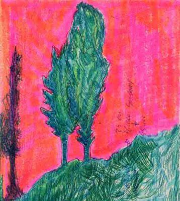 LUIS DESENHA: Árvores