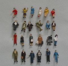 Modelleisenbahn Figuren, Modellbahnfiguren, Miniaturfiguren, Modellbaufiguren,