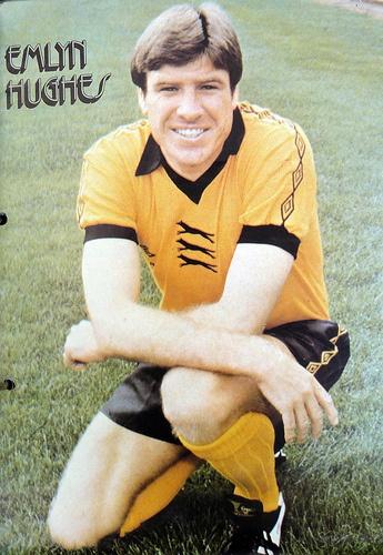 Emlyn Hughes (Wolverhampton Wanderers FC, 1979–1981, 58 apps, 2 goals)